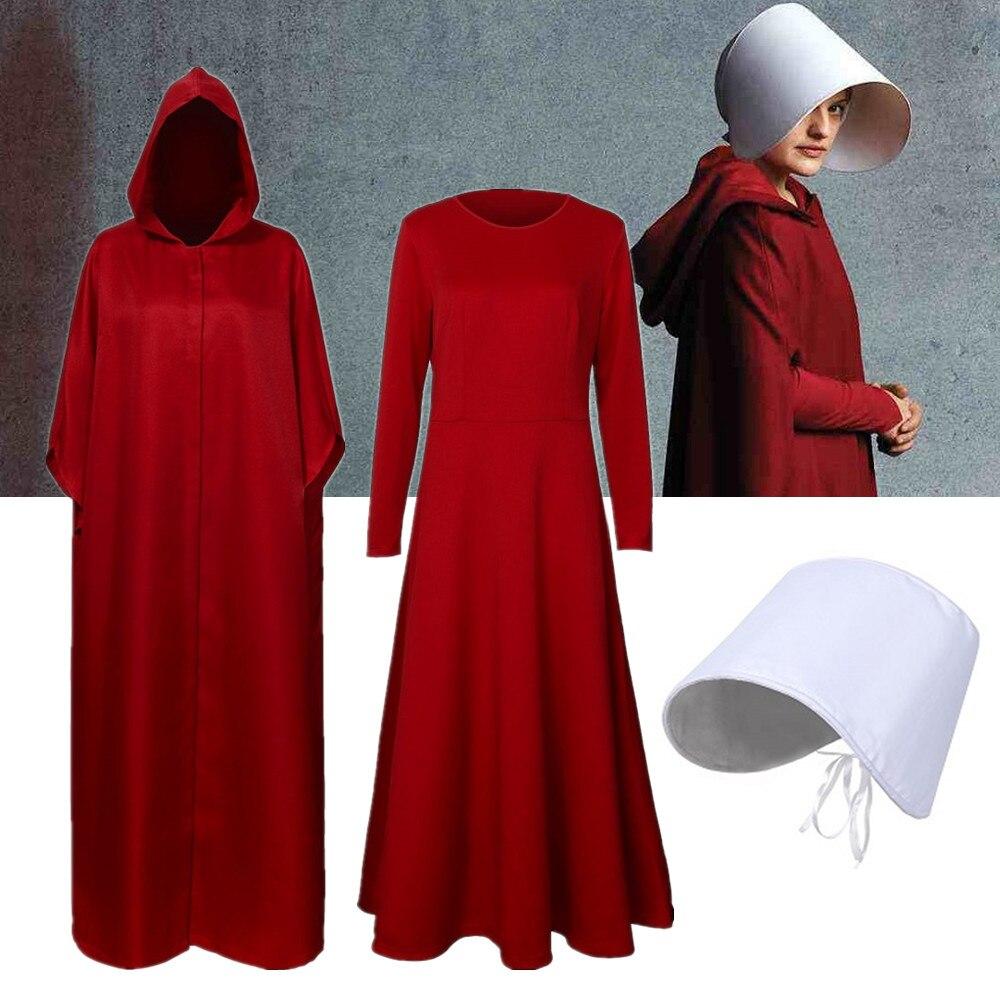 Женский карнавальный костюм ручной работы, платье-накидка ручной работы на Хэллоуин, платье с длинным рукавом, белая шляпа, вечерние карнав...