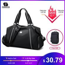 FRN Travel Bag Hand Luggage Men Duffle Bag Gym Waterproof Weekend Bag Large Capacity
