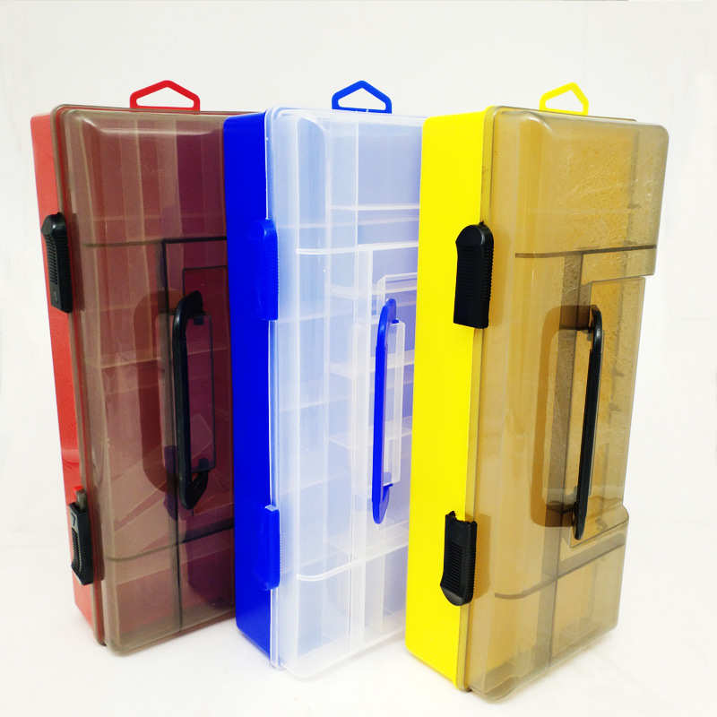 Multifuctional Compartment Storage Case Box Large Capacity High Strength Tackle Box Lure Spoon Hook Bait Fishing Box Accessories|Fishing Tackle Boxes| |  - title=