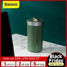 Baseus Humidificador para coche, hogar y oficina, Mini generador de niebla ultrasónica con lámpara nocturna, portátil, 420ml