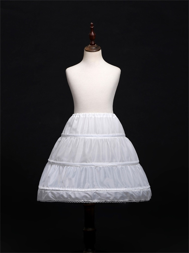 Petticoats Crinoline Dress Underskirt Short Hoopless Children Little-Girls New Formal
