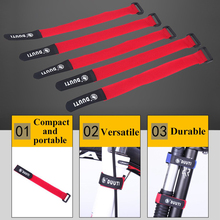 Bicycle-Handlebar-Strap Fixed-Tape Road-Bike Cycling Water-Bottle 5pcs for Pump Fastening-Bands