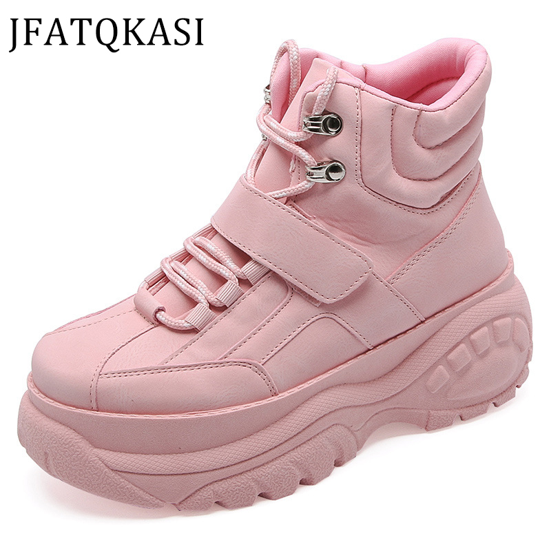 Women Casual Shoes Spring Platform Tall