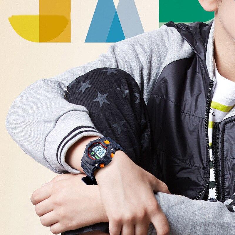 TurnFinge Children% 27s Электронные Часы Многофункциональные Многоцветные Водонепроницаемые Хронограф Мода Роскошь Изысканный Горячий Подарок 2020