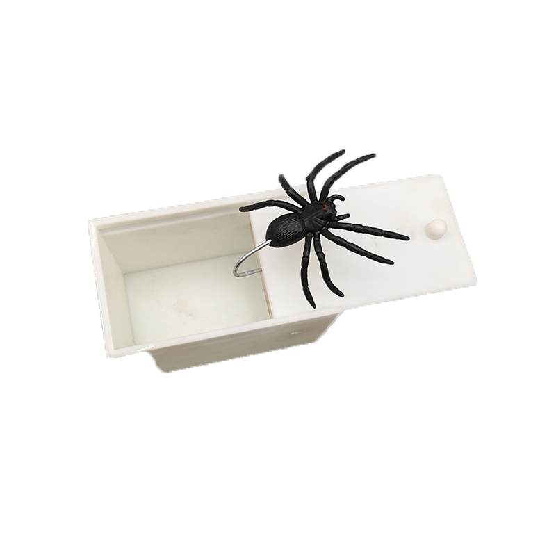Plastic Prank Scare Spider Gag Mouse Gift Children Kids Adult Toys Horror Funny Joke Surprise Box Scary Halloween Fashion Toys