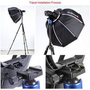 Image 5 - Triopo 90cm תמונה נייד חיצוני Speedlite אוקטגון אמברלה Softbox עבור Godox V860II TT600 Yongnuo YN560IV YN568EX פלאש KS90