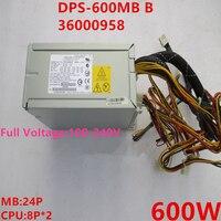 Lenovo T220 R350 T350 T280G2 600W 전원 공급 장치 DPS-600MB B 36000958 용 새 PSU