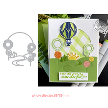 2021 New Design Craft Garden Path Window Metal Cutting Die Cut Dies Scrapbook Album Paper Card Craft Embossing Die Cuts