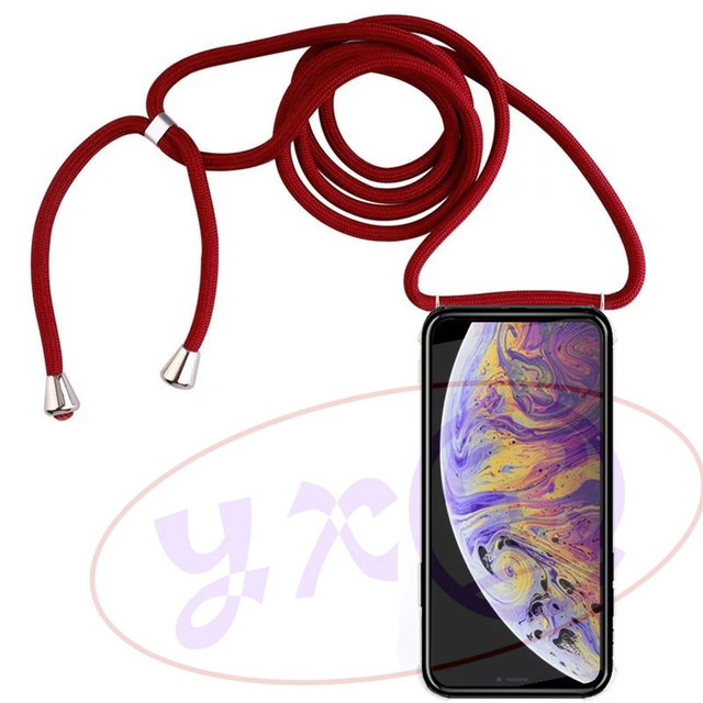 Cover for Motorola Moto Z Play P30 Note P40 Power G8 Plus X Style X Pure One Hyper Vision Macro Action Shoulder Neck Strap Case