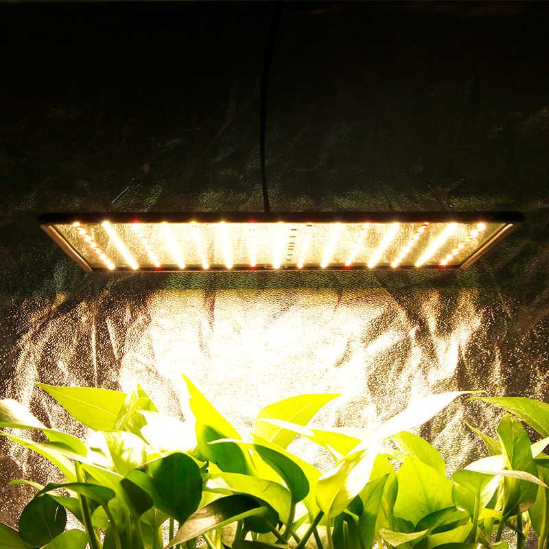 Indoor Led 1000W 3500K Tumbuh Cahaya Panel Spektrum Penuh Phyto Lampu untuk Bunga Lampu untuk Tanaman Hangat Putih LED Fitolamp Tumbuh Tenda