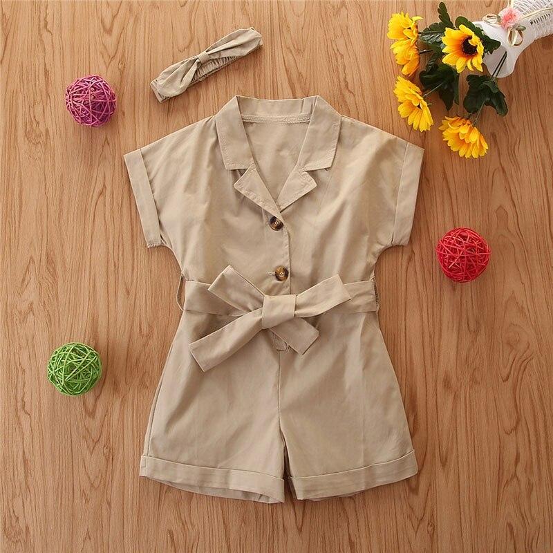 crianças roupas de verão arco-laço cintura geral