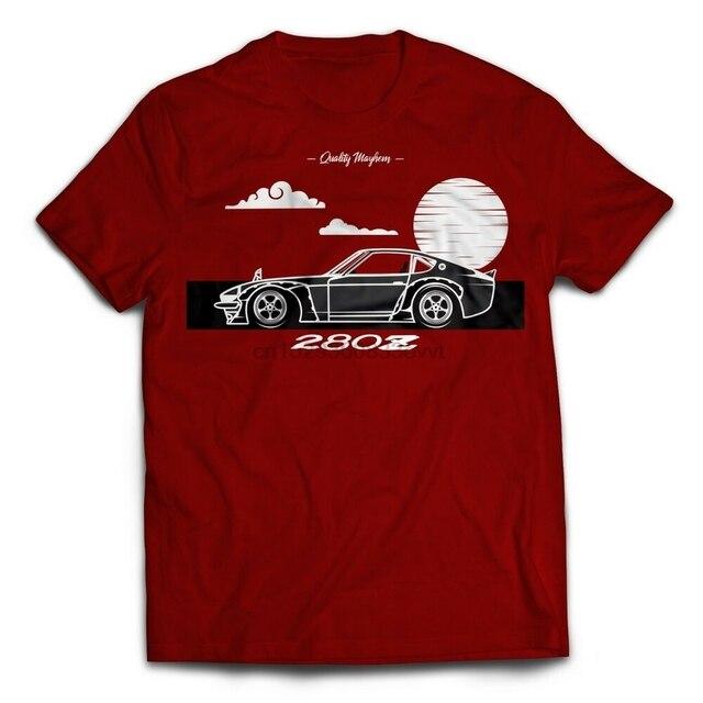 Nissan 280z datsun jdm deriva japonês camisa tshirt