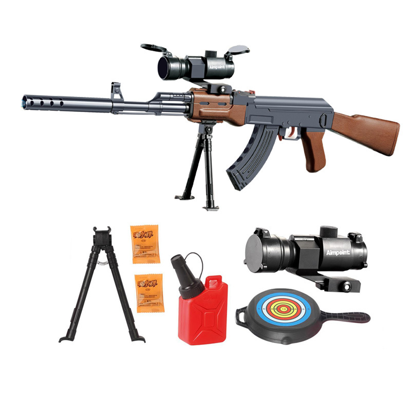 Currently Available Hot Selling Manual Water Rifle Chicken Celebrity Inspired Sniper Rifle CS Outdoor Model Children's Toy Gun