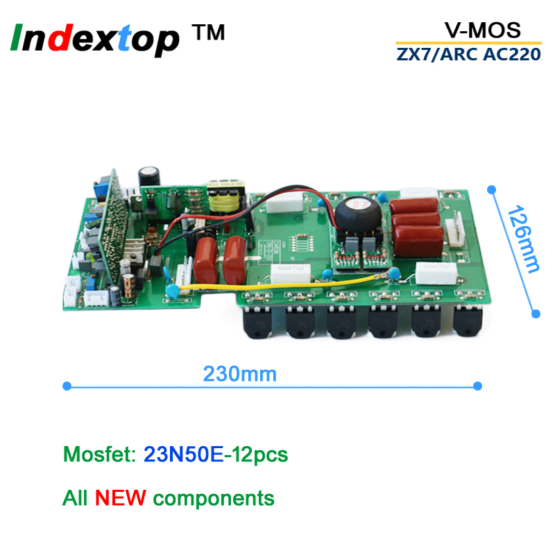 MMA сварочный аппарат PCB ARC ZX7 200 250 общего использования монтажная плата аксессуары для инвертор mos dc Сварка AC220 v