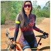 20 cores das mulheres longo mangas compridas skinssuit go pro equipe de ciclismo macacão pro equipe irmã triathlon roadbike mtb roupas verão macaquinho ciclismo feminino manga longa roupas com frete gratis macacao 26