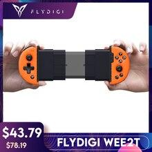Flydigi Wee2T PUBG עבור IOS אנדרואיד Bluetooth אלחוטי Flashplay 6 ציר מתכוונן Gamepad משחק בקר