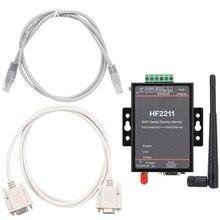 Wi Fi Thiết Bị Nối Tiếp Mạng Máy Chủ Nối Tiếp RS232 RS485 RS422 WiFi Ethernet Module Chuyển Đổi Hỗ Trợ Giao Thức TCP CE FCC ROHS