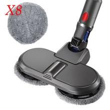 Electric Wet & Dry Mop Cleaning Mop Floor Head Brush For Dyson V7 V8 V10 V11 Wireless