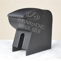 Caja de madera para Reposabrazos de coche especial con punzón libre para caja de mano de lujo para coche Suzuki Jimny
