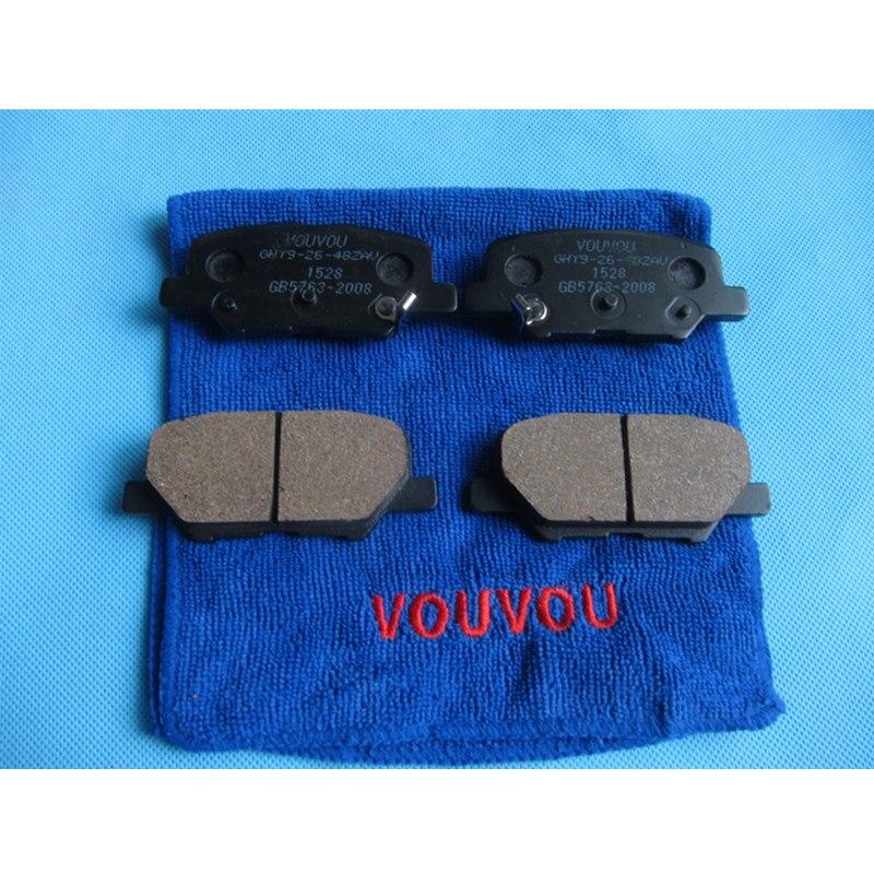 Front Rotors w//Ceramic Pads OE Brakes 2007-2015 Mazda CX9