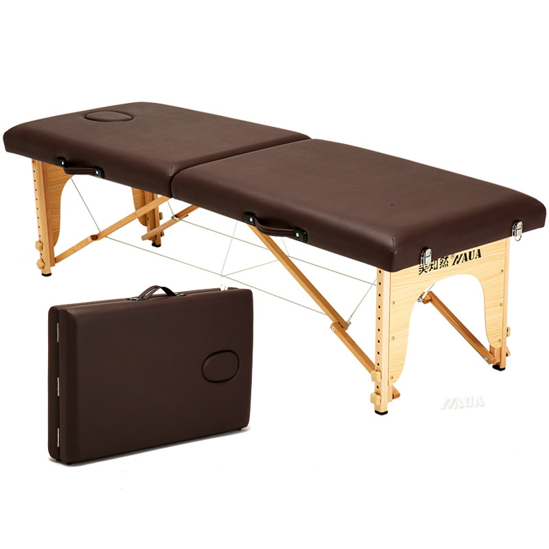 Original Point Folding Massage Bed Massage Portable Home Moxibustion Tattoo Body Treatment Beauty Bed Portable Simple