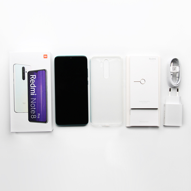 "Global Version Xiaomi Redmi Note 8 Pro 6GB 64GB/128GB Smartphone 64MP Quad Camera 6.53"" Helio G90T Octa Core 4500mAh Battery NFC"