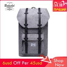2018 Bodachel рюкзак маленькая американская мужская сумка Школьный рюкзак большой емкости рюкзак для ноутбука 24л Стиль Рюкзак