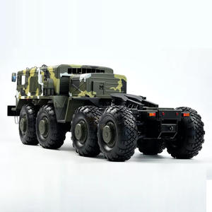 Model-Toy Car Army-Card Remote-Control Electric Car-Kit Four-Wheel-Drive Cross-Country