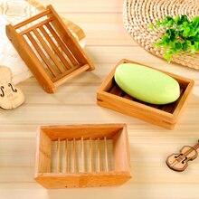 Деревянный держатель дренаж для мыла прочная душевая мыльница