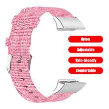 שעון רצועת החלפת להקת קניות לובש אבזר ניילון בד חיצוני עבור Garmin Forerunner 35/Forerunner 30