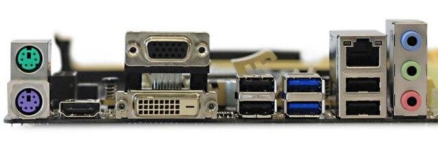 Carte mère Asus Z87-K utilisé carte mère de bureau Z87 LGA 1150 DDR3 32G SATA3 USB3.0 ATX