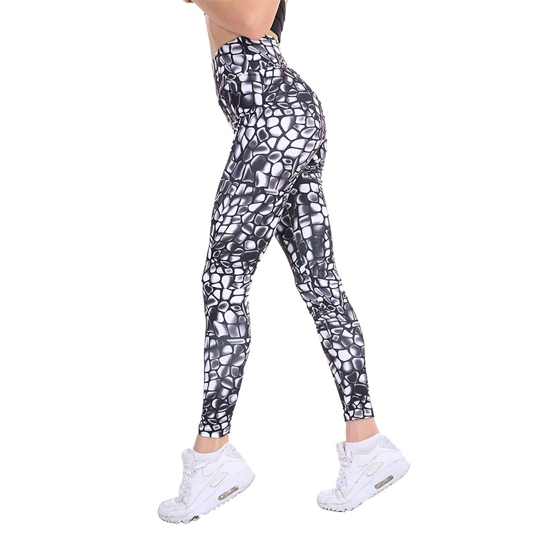 2019 Summer New Style Trend New Style Tight Buttock Lifting WOMEN'S Dress Capri Pants Thin Yoga Pants