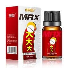 10ML Penis büyütme masaj uçucu yağ artırmak Max boyutu ereksiyon seks ürünleri Anti-erken afrodizyak adam için