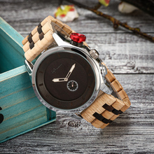 Shifenmei Watch Men Wooden Wrist Watches Wood