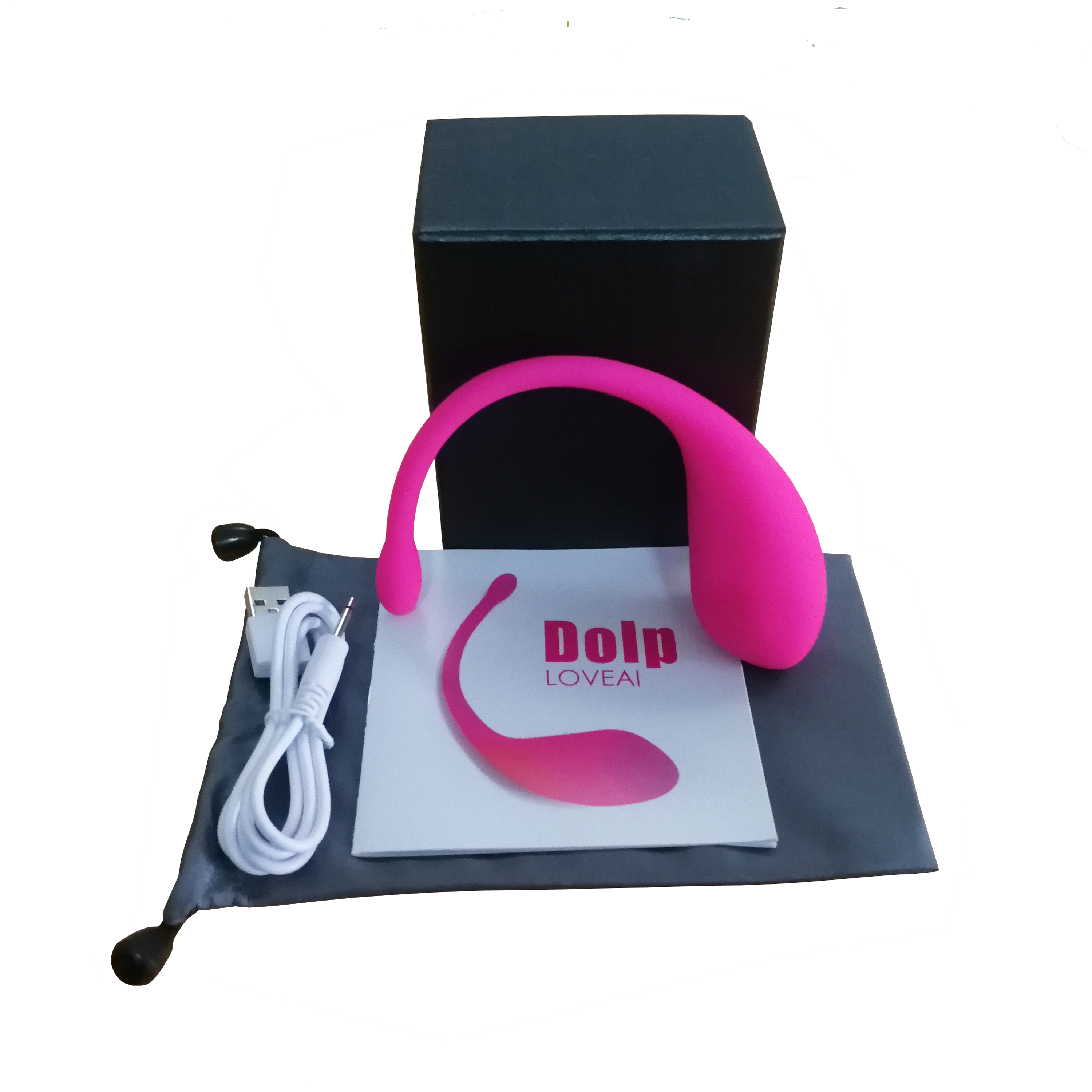 Dolp Wearable Vibrator, Smart App Lush Massager, Remote Bluetooth Control Powerful Quite Waterproof Massaging Tool For Woman