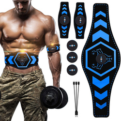 Electro Muscle Stimulator Hip Trainer Toner Fitness Body Slimming EMS Abdominal Muscle Stimulation Trainer USB Rechargeable