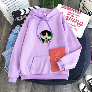 2020 new Cute cartoon buttercup sweatshirt hip hop unisex hoodie Blossom Bubbles, Fashion Funny Hombre hoody Pullover Tops