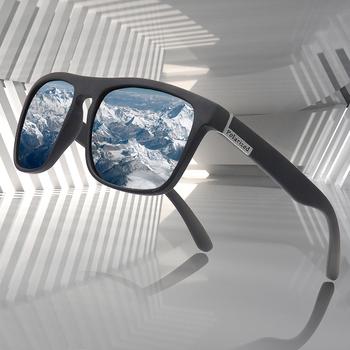 Moda spolaryzowane okulary mężczyźni luksusowy gatunku projektanta rocznika odkryty jazdy okulary męskie gogle cień UV400 óculos tanie i dobre opinie ZXWLYXGX SQUARE Dla dorosłych Poliwęglan Lustro Antyrefleksyjną 44mm Polaroid 2149 55mm