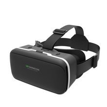 SC-G04 Originele Vr Virtual Reality 3D Glazen Doos Stereo Vr Kartonnen Headset Helm Voor Ios Android Smartphone,Bluetooth Rocker(China)