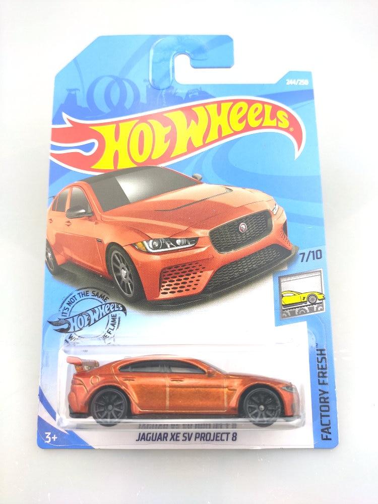 2019 Hot Wheels 1:64 Car NO.219-250 MCLAREN ASTON MARTIN JAGUAR FORD DODGE Metal Diecast Model Car Kids Toys Gift