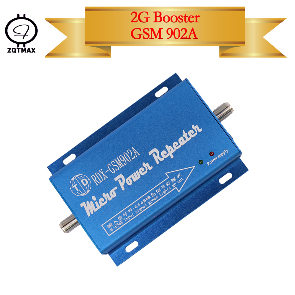 ZQTMAX GSM Repeater GSM900 Cell Mobile Phone Signal Booster gsm 900 MHz 2g Cellular Amplifier