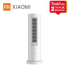 Xiaomi Mijia Verticale Elektrische Kachels Fan Ptc Snelle Infrarood Verwarming Smart App Controle Temperatuur Laag Geluidsniveau Automatische Rotatie