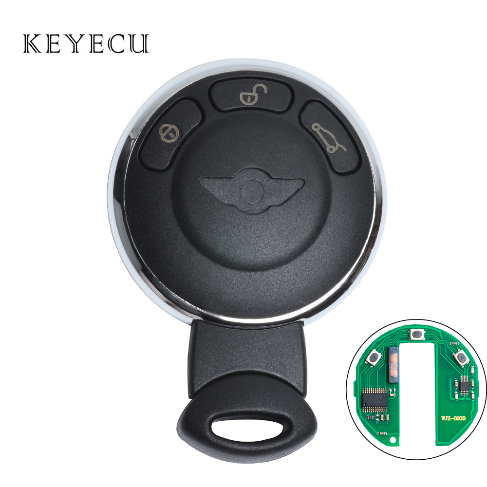 Remote Key 3 Button Fob 868MHz ID46 Chip for BMW Mini 2007-2014