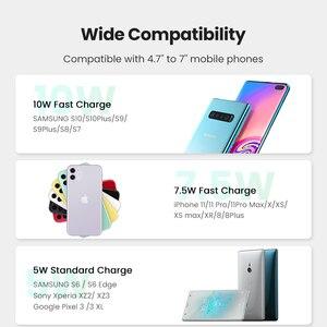 Image 3 - Ugreen Không Dây Sạc Trên Ô Tô Cho iPhone 12 Pro XS X 8 Fasr Sạc Không Dây Dành Cho Samsung S9 S10 Xiaomi Mi 9 Sạc Không Dây Qi