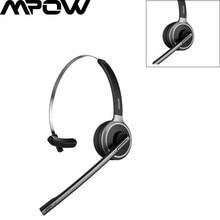 Mpow-auriculares inalámbricos M5 con Bluetooth 5,0, dispositivo con cancelación de ruido y micrófono transparente para camionero y conductor