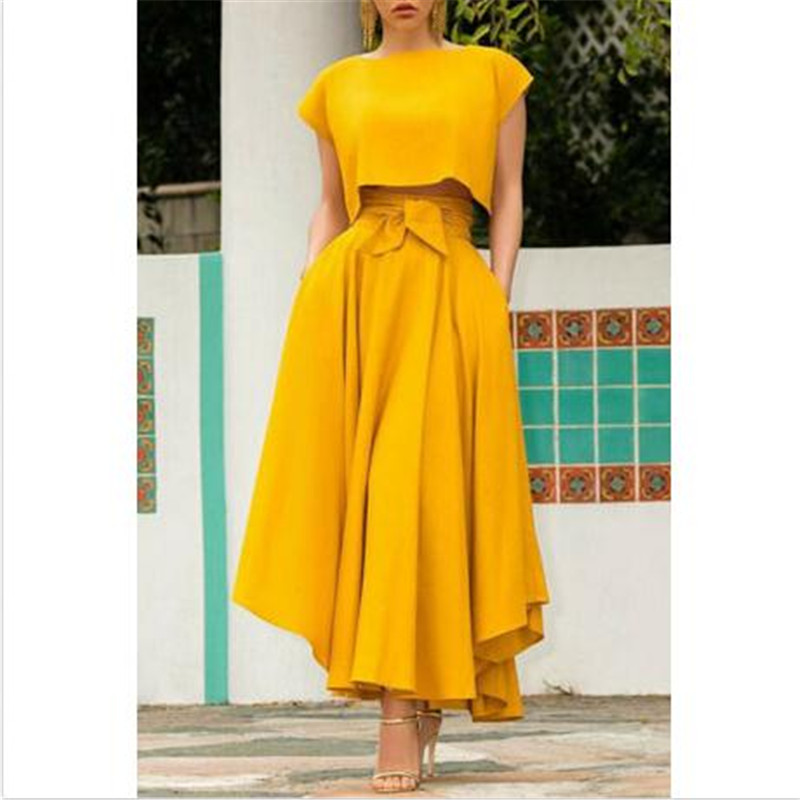 Autumn Long Women's Skirt New Solid Color High Waisted Skirts Fashion Female Lace-up Pleated Evening Party Loose Underskirts Hot