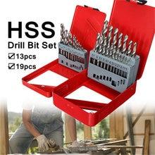 13pcs 15 65mm / 19pcs 1 10mm steel electric screw driver bits