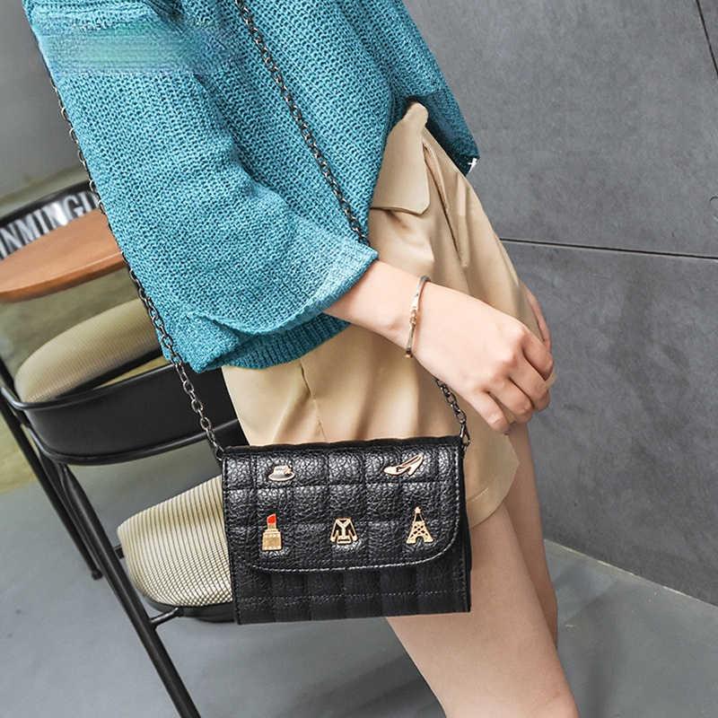 Женская маленькая сумка через плечо новая роскошная черная сумка через плечо из искусственной кожи женские зимние сапоги высокого качества; Женские сумки через плечо для девочек сумки