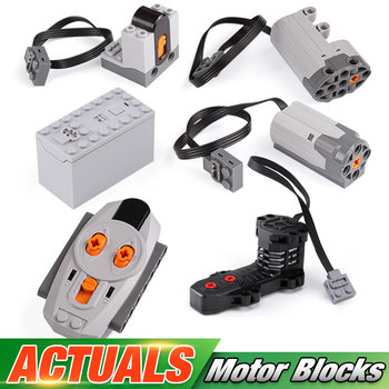 Technic Car Parts For 42009 Crane MK II Motor Function Parts Compatible With 8883 8884 5292 Set Kids Toys Building Blocks Bricks image