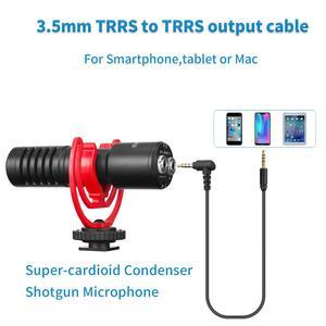 Image 5 - Boya micrófono condensador inalámbrico para teléfono inteligente, micrófono condensador supercardioide para cámaras DSLR, BY MM1 y vídeo